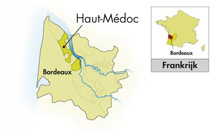 Château Trois Moulins Haut-Médoc halve fles