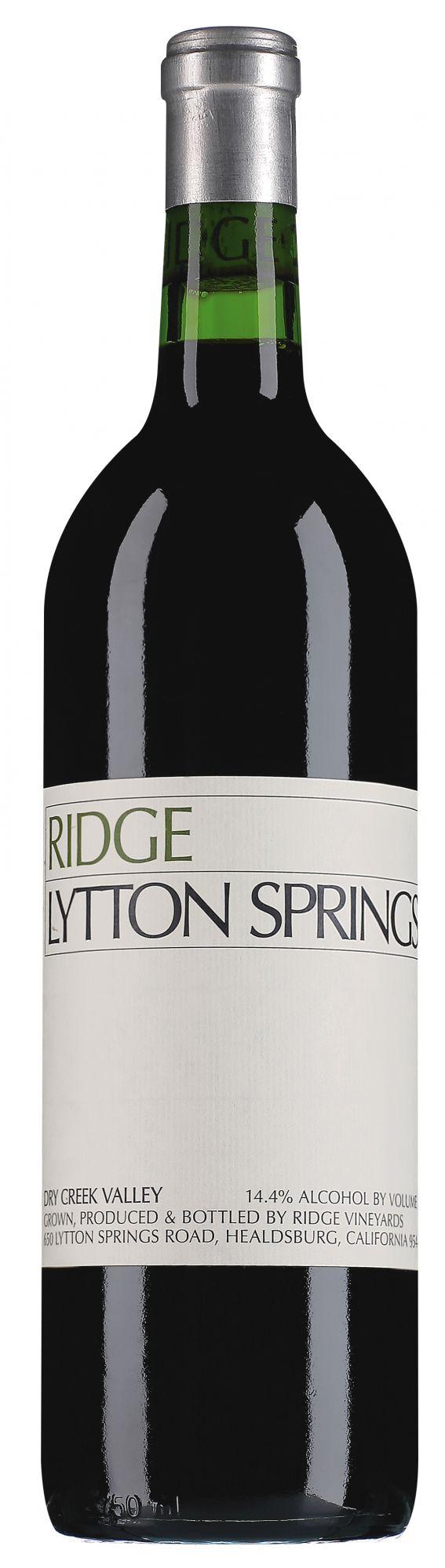 Ridge Dry Creek Valley Lytton Springs Zinfandel