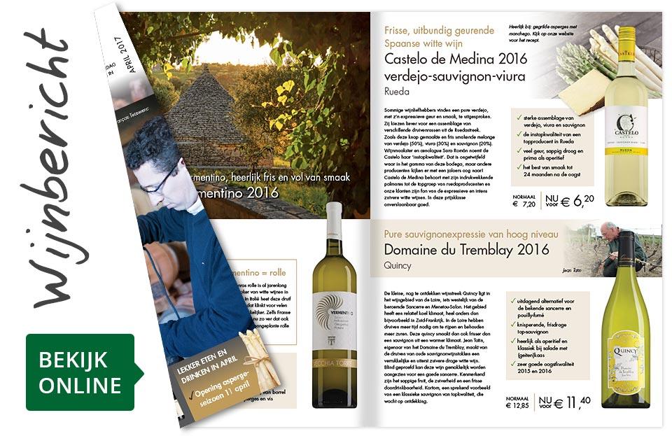 Online wijnbericht april 2017