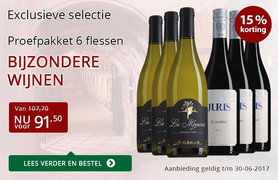Proefpakket bijzondere wijnen juni (91,50) - rood