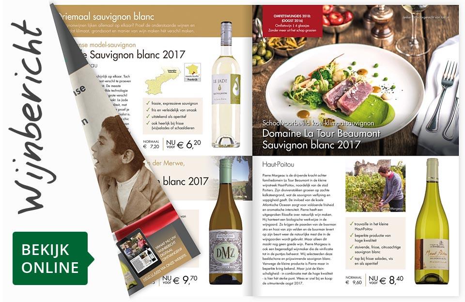 Online wijnbericht maart 2018