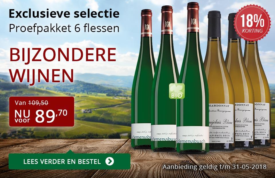 Proefpakket bijzondere wijnen mei 2018 (89,70) - rood