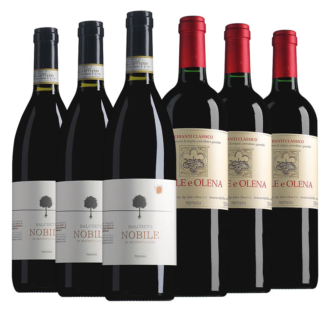 Proefpakket bijzondere wijnen juni (6 flessen)