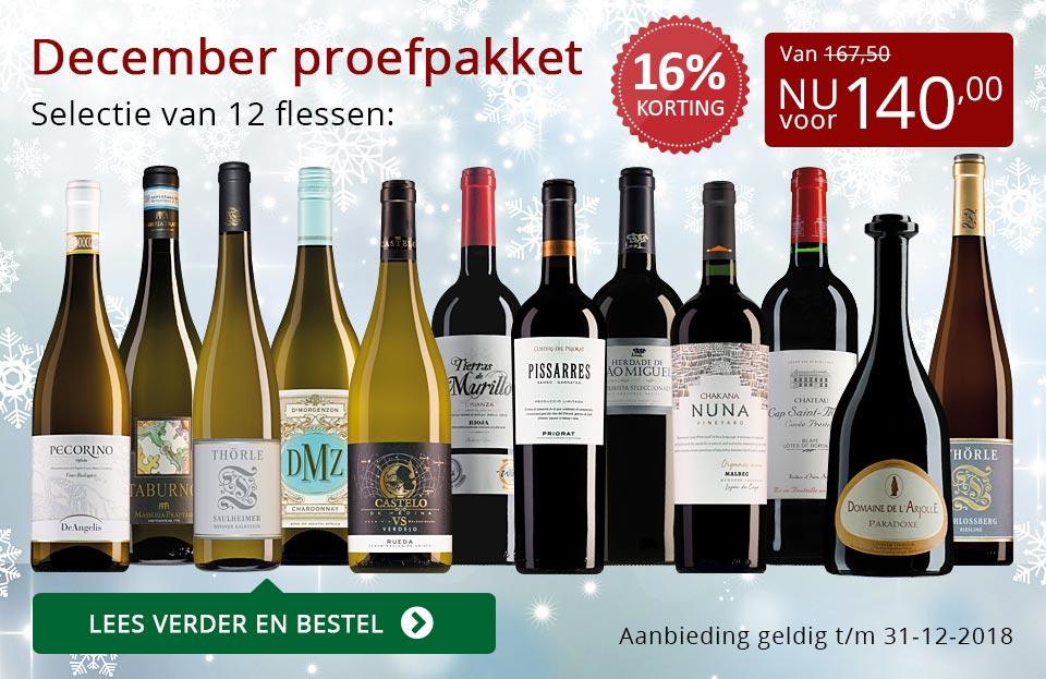Proefpakket wijnbericht december 2018 (140,00) - rood