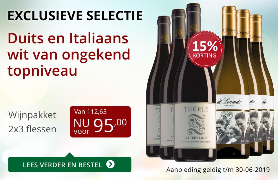 Wijnpakket bijzondere wijnen juni 2019 (95,00) - rood