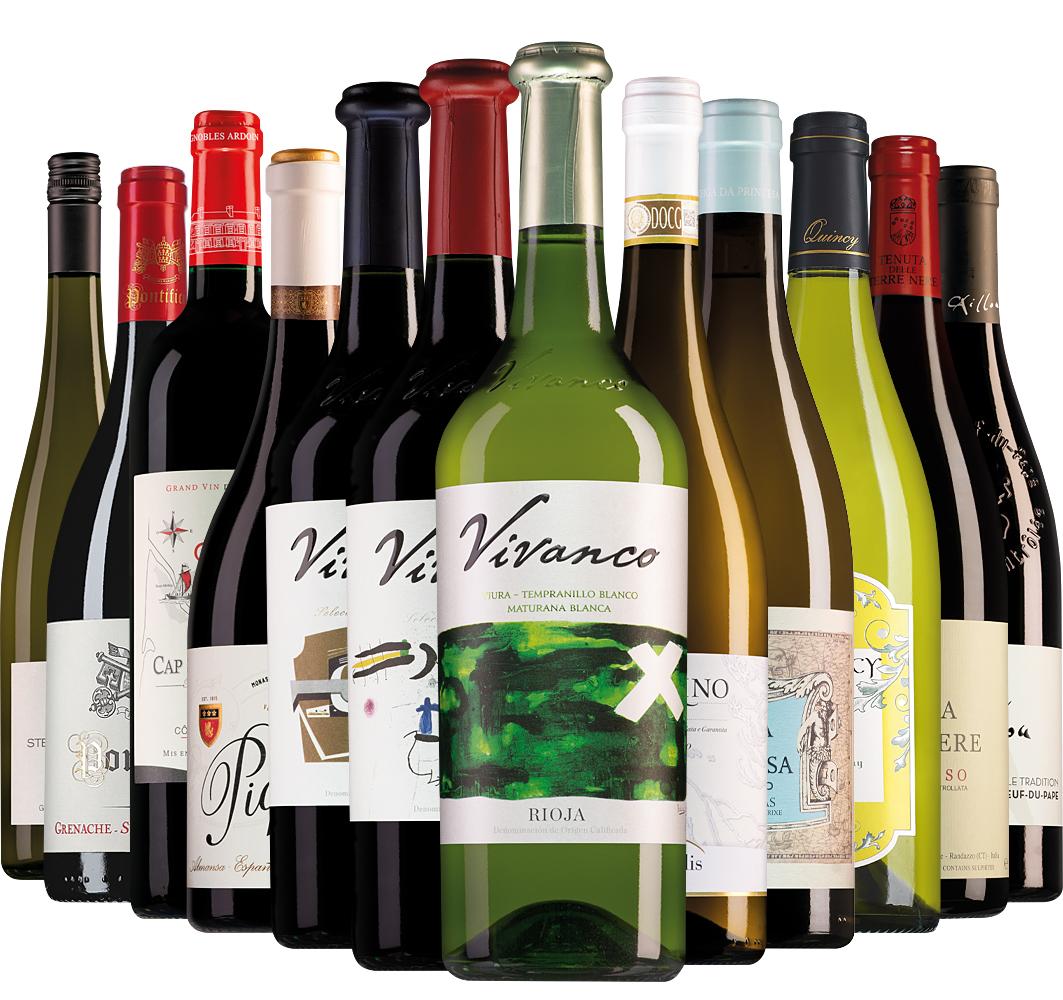 Wijnpakket Wijnbericht november (12 flessen)