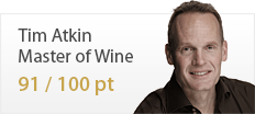 Tim atkin Master of Wine 91/100 pt
